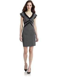 Rebecca Taylor - Lace Detail Dress