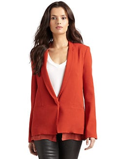 Kimberly Ovitz - Layered Look Blazer