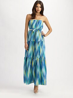 Cynthia Steffe - Strapless Emmaline Maxi Dress