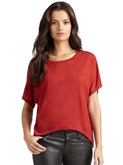 O by Kimberly Ovitz - Jersey Hi-Lo T-Shirt