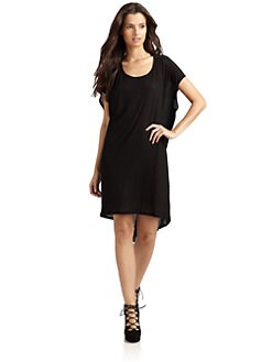 O by Kimberly Ovitz - Jersey Hi-Lo Dress