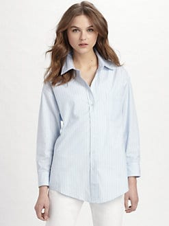 Elizabeth and James - Laurent Pinstripe Shirt