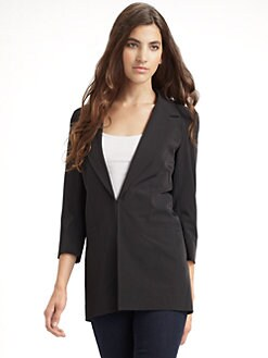 Elizabeth and James - Sharp Shoulder James Blazer