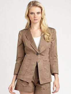 Nanette Lepore - Buenos Aires Jacket/Twig