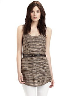 Qi New York - Belted Space Dye Tank