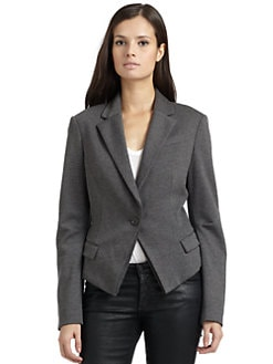 BCBGMAXAZRIA - Mariah Cropped Knit Blazer