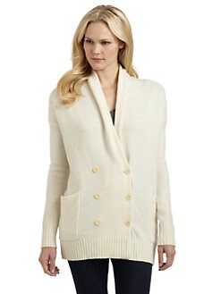 BCBGMAXAZRIA - Double-Breasted Cardigan Sweater