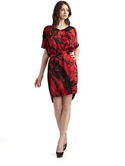 Josie Natori - Arata Silk Dress