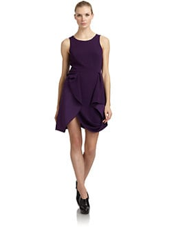 BCBGMAXAZRIA - Gretchen Draped Dress