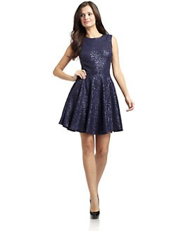 Cynthia Steffe - Sabella Sequined Dress