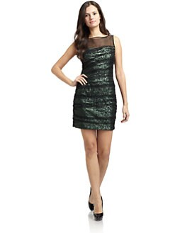 Cynthia Steffe - Shila Sequined Tulle Dress