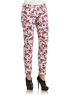 D&G - Floral Trousers