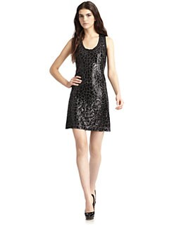 Ali Ro - Sequin Shift Dress