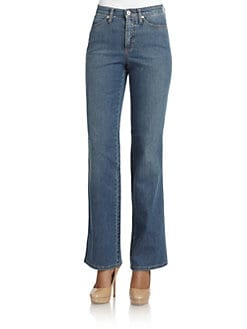 Cambio - Jade Straight-Leg Jeans
