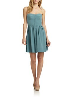 Rebecca Taylor - Perfect Fit Silk Sweetheart Dress