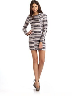 Torn - Mila Long Sleeve Ruched Dress