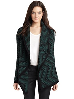 Torn - Sally Tribal Draped Cardigan