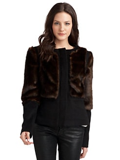Torn - Fiona Faux Fur Jacket
