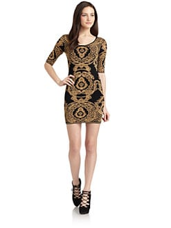Torn - Casey Baroque Knit Dress