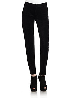 Kimberly Ovitz - Stretch Velveteen Pants