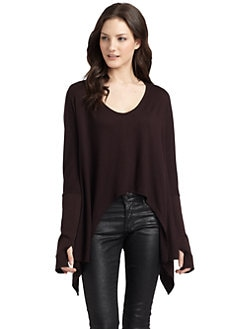 O by Kimberly Ovitz - Bruno Hi-Lo Knit Top
