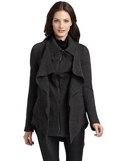 Kimberly Ovitz - Xander Draped Short Coat