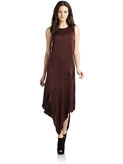 Kimberly Ovitz - Matte Shimmer Long Dress