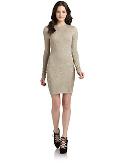 Kimberly Ovitz - Trapunto-Textured Knit Dress