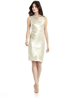 Giorgio Armani - Sleeveless Metallic Dress
