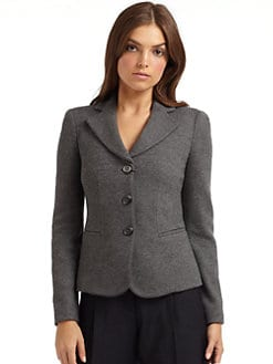 Giorgio Armani - Tailored Wool Jacket