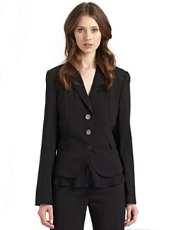 Giorgio Armani - Wool Flap Pocket Jacket