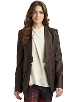 Halston Heritage - Relaxed Notched Blazer