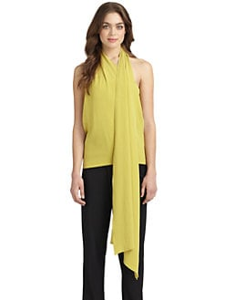Halston Heritage - Draped Neck Tube Top