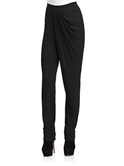 Halston Heritage - Draped Front Pants