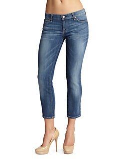 7 For All Mankind - Roxanne Cropped Skinny Jeans