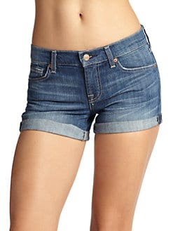 7 For All Mankind - Roll-Cuff Shorts