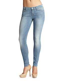 7 For All Mankind - Gwenevere Cropped Skinny Jeans