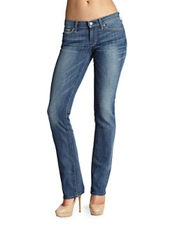 7 For All Mankind - Classic Straight-Leg Jeans