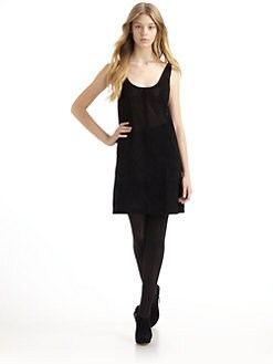 Gar-De - Sonoran Suede & Jersey Tank Dress