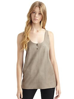 Gar-De - Tasman Suede Tank Top/Taupe