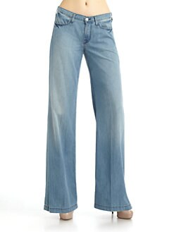 7 For All Mankind - The Trouser Faded Jeans