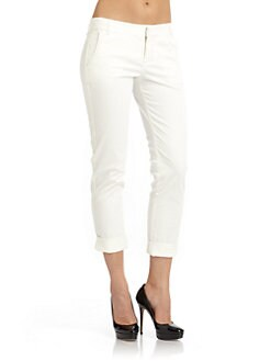 7 For All Mankind - Wanderer Pants/White