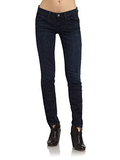 SOLD Design Lab - Studded Skinny Jeans