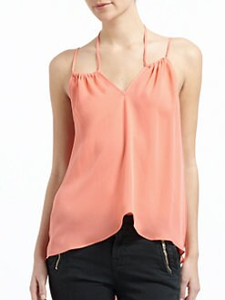 Chelsea Flower - Silk Double Strap Camisole