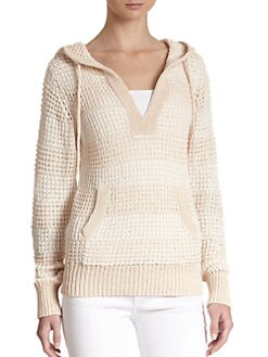 Candela - Melanie Lace-Back Hooded Sweater