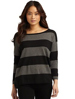 Joie - Zed Striped Knit Top
