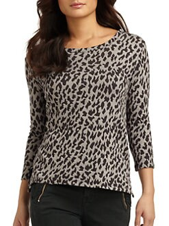 Joie - Shina Leopard-Print Top