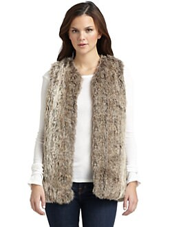 French Connection - Fast Fancy Faux Fur Vest