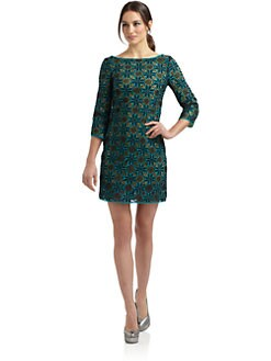Catherine Malandrino - Embroidered Sheath Dress