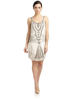 Renzo and Kai - Silk Beaded Tank Dress